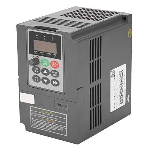 Frequenzumrichter, 1,5 kW 2-PS-Vektor-VFD-Wechselrichter, 1-phasig, 220 V bis 3-phasig, 0-220 V, 7 A -