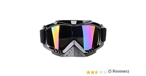 Dream Lunettes Moto Cross Moto Enduro Motard Pare-soleil Visi/ère DH Downhill BMX MTB Adulto multicolore