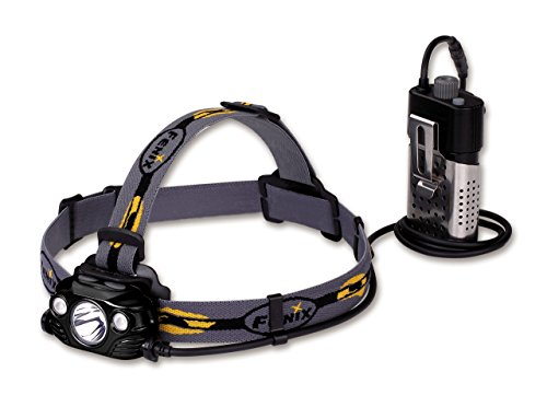 fenix Herren HP30R Stirnlampe, schwarz, One Size