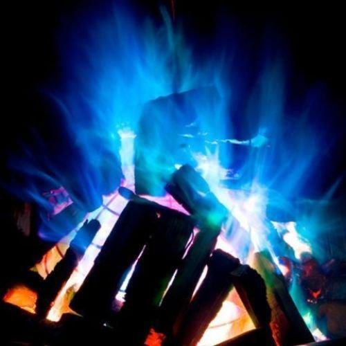 NEU 6 x Mystischer Flammen Feuer Magic Color Bonfire Beutel für Feuerwerkskörper Night 994022