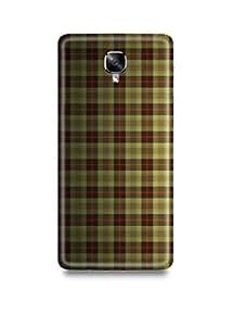 Oneplus 3/3T Cover,Oneplus 3/3T Case,Oneplus 3/3T Back Cover,Shopmetro Checks Oneplus Three Mobile Cover By The Shopmetro-2434-13649