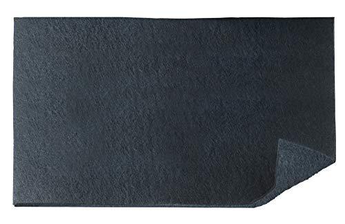Wenko Aktivkohle Geruchsfilter - Filter für Dunstabzugshauben gegen Küchengerüche, 57 x 47 cm, schwarz