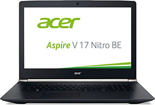 Acer Aspire V 17 Nitro Black Edition VN7-792G-59CL 43,9 cm (17,3 Zoll FHD IPS matt) Gaming Notebook (Intel Core i5-6300HQ, 8GB RAM, 256GB SSD und 500GB HDD, GeForce GTX 960M) schwarz