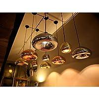 pendente, 1 luce, rivestimento in vetro ferro creativa , Antique