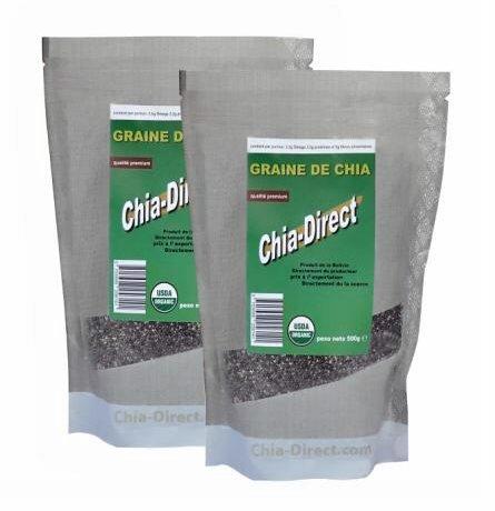 5KGs - Graines de chia naturelles, libres de pesticide, non OGM
