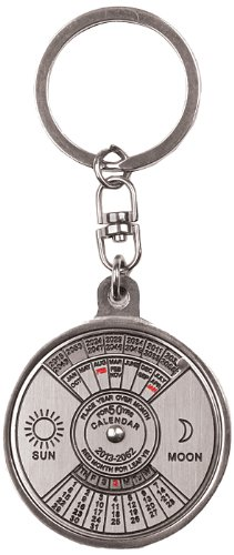 Preisvergleich Produktbild Schlüsselanhänger 50 YEAR CALENDAR