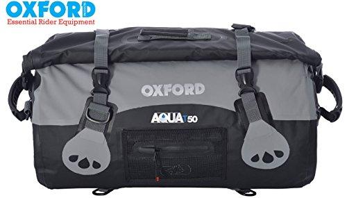 Oxford Marke neue Aqua Wasserdicht 50Liter Dry Gepäck mit Roll Top Alle Wetter für Motorrad Verwenden -