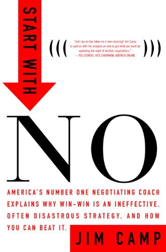 Start with No: The Negotiating Tools that the Pros Don't Want You to Know (English Edition)