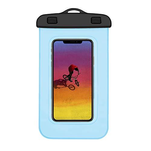 Funda Impermeable Xiaomi Mi A2 Lite Certificado IPX8 Bolsa para Xiaomi Mi A2 Lite Funda acuatica Xiaomi Mi A2 Lite Funda Sumergible Xiaomi Mi A2 Lite Funda Resistente al Agua Mi A2 Lite Turquesa