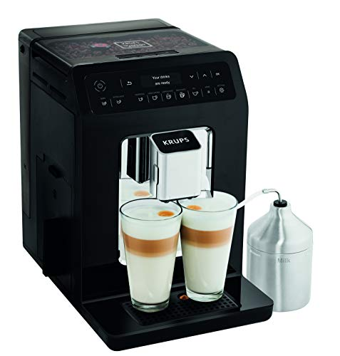 Krups Kaffeevollautomat EA8918 Evidence One-Touch-Cappuccino, OLED-Bedienfeld mit Touchcreen, 2.3 L,...