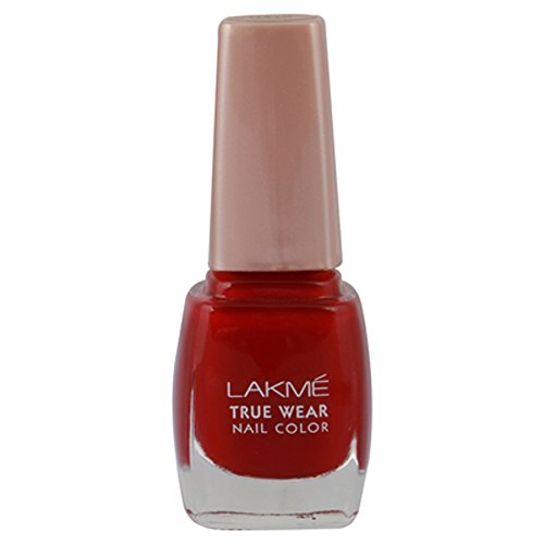 Lakme True Wear Nail Color, Shade D415, 9 ml