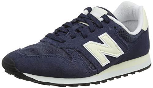 New Balance Damen 373 Laufschuhe Blau (Navy/Butrmilk Nvb) 39 EU New Navy Schuhe