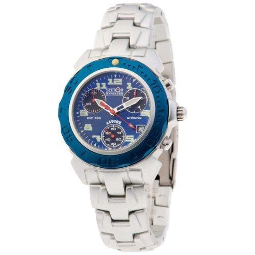 SECTOR 78041 - Reloj Unisex movimiento de cuarzo con brazalete metálico