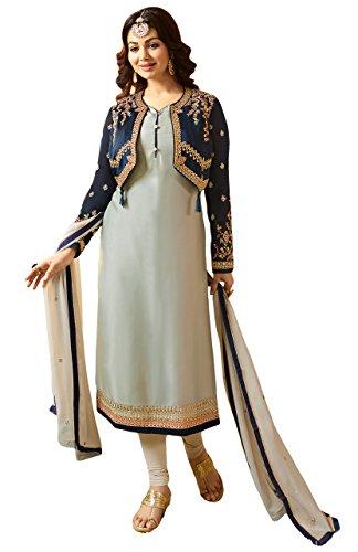 Justkartit New 2018 Jacket Koti Style Party Wear Salwar Kameez Suits
