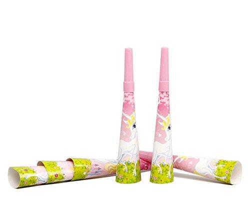 Atosa-16773-6Pcs-Cornets-Acoustique-Licorne-20-cm