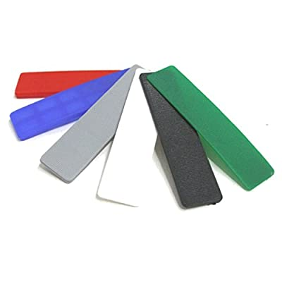 120 Plastic Window & Glazing Packers Spacers 1mm - 6mm / Flooring Packer