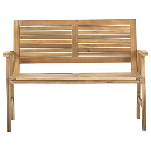 Gartenbank Holz Akazie 2-Sitzer OUTLIV. Bali Holzbank massiv 120 cm Sitzbank Garten - 2
