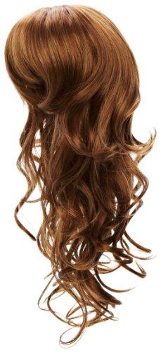 Amore hair extensions - la/w/s/lara/8 - luscious lara parrucca - 8 colore - marrone grigio - 46 cm