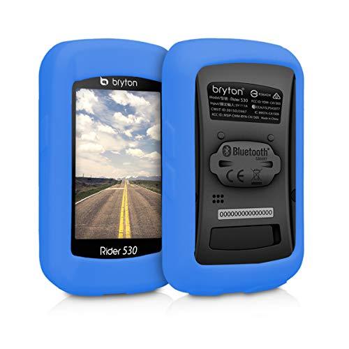 kwmobile Funda para Bryton Rider 530 - Carcasa de [Silicona] para GPS...