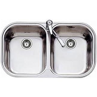 Grifo monomando para fregadero rociador extra/íble Franke 740 1150030729 alta presi/ón color gris
