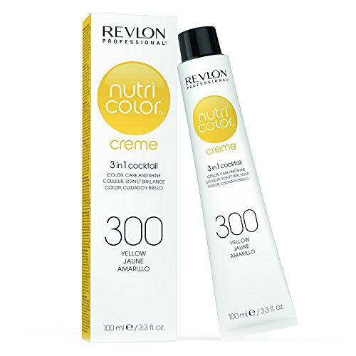 REVLON PROFESSIONAL Nutri Color Creme ,Nr. 300  Yellow, 1er Pack (1 x 100 ml)