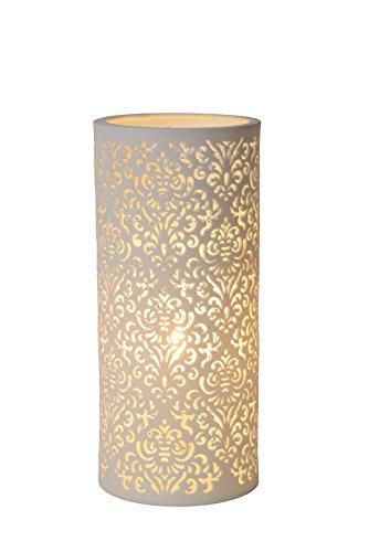 Lucide KANT - Lampe De Table - Ø 12 cm - Blanc
