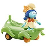The Smurfs Puffi Surflily on Leafboard figure