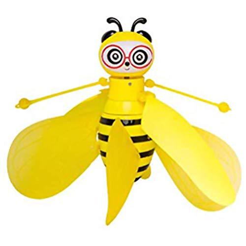 Yissma Simulation Kleine Biene Induktion Flugzeug Spielzeug Geste Smart Remote Suspension Fliegende Spielzeug für Kinder Geschenk -