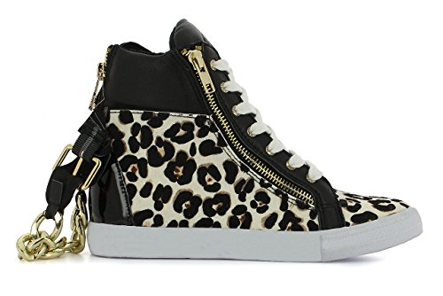 JUICY COUTURE - Ilianna, Scarpe tecniche Donna Multicolore (natural leo pony)