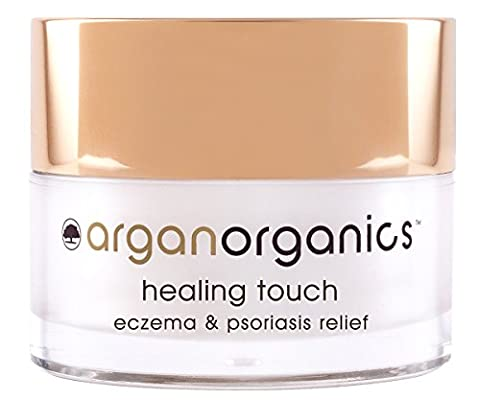 Argan Organics - Crème à l'huile d'argan pour traitement de l'eczéma et du psoriasis