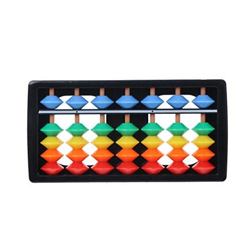 Youliy Colorful Abacus Arithmetische Soroban Mathematikrechnungswerkzeuge,