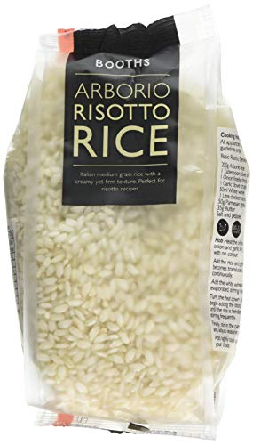 Booths Arborio Risotto Rice, 500 g Pack of 12