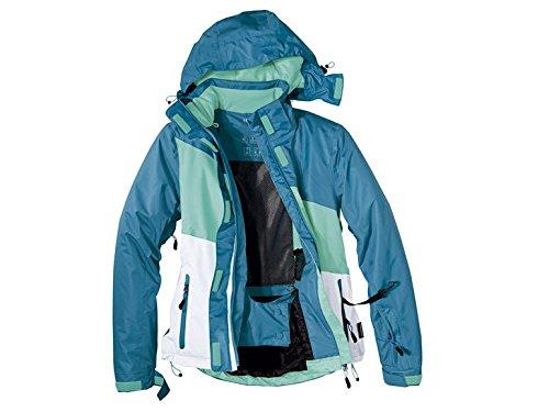 Crivit Sports Damen Snowboardjacke Snowboar Ski Sport Jacke Wintersport Winterjacke Sportjacke, Größe:36, Farbe:Türkis