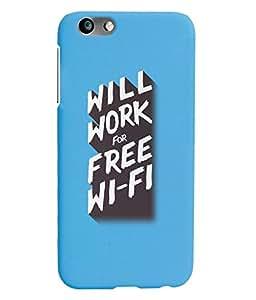 KolorEdge Back Cover For Huawei Honor 4X - Sky Blue (1341-Ke15148Honor4XSBlue3D)