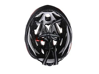 GgBoy Cycle Men Women Porous Mountain Bicycle Helmet One-Piece Adjustable Bike Helmet(Blue+Silver+Black) for Sports from ggBoy