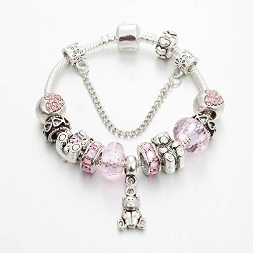 a Charms Bracelet & Bangles Bär Anhänger Armband Für Frauen Weibliche Persönlichkeit Schmuck ()
