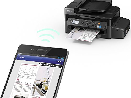 Epson EcoTank ET-4500 Multifunction Printer with Refillable Ink Tank - Black