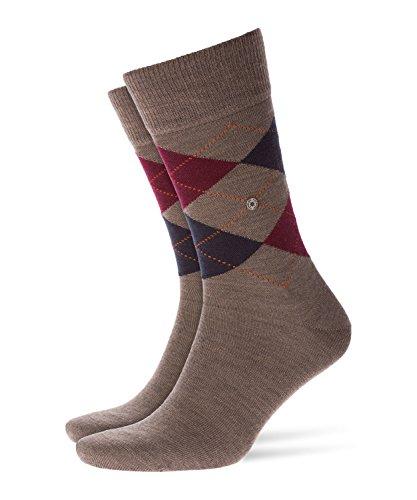 Burlington Damen Socken Whitby, Gr. 36/41, Braun (Nutmeg Meliert 5413) (Herren-socken Kariertes)