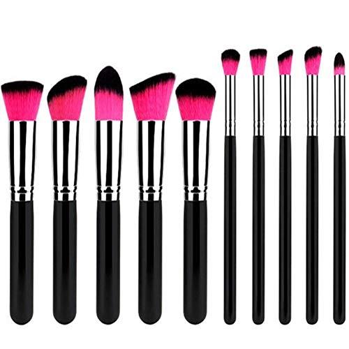 Cdet 10PCS Brosse cosmétiques Professionnel Teint Eyebrow Shadow Makeup Blush Kit Pinceau Ensemble Brosse à Maquillage Brosse à Maquillage Maquillage Outils