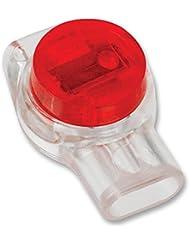 Connecteur, ruban isolant, IDC, 2/3l, rouge, X100