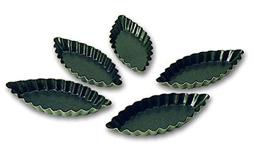 Blister de 12 barquettes cannelées Exopan professionnelles 120* 50 mm