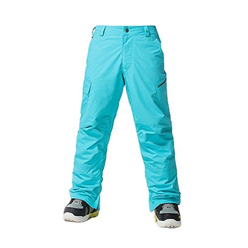 Wonny Herren Skihose Pants Wasserdicht Snowboard Winter Snowboardhose Hellblau XL