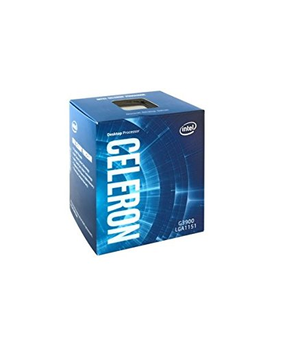 Intel Celeron Prozessor G3900 (2,80 GHz, 2 MB Intel Smart-Cache) (1150 Lga Socket Prozessor)