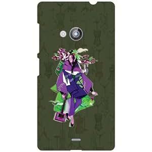 Nokia Lumia 535 Tooned Matte Finish Phone Cover - Matte Finish Phone Cover