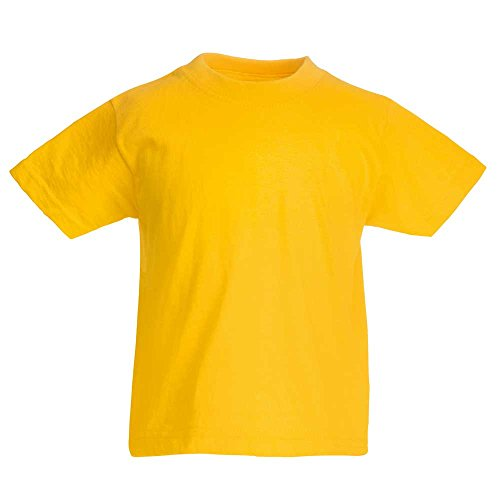 fruit-of-the-loom-kids-t-shirt-yellow