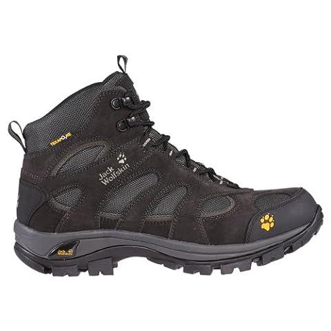 Jack Wolfskin ALL TERRAIN TEXAPORE WOMEN 4002561, Damen Trekking- & Wanderschuhe, nearly black, EU 38 (UK 5) (US