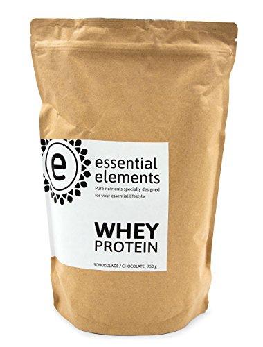 Whey proteine del siero, 750g, cioccolato - la deliziosa polvere proteica a basso contenuto di carboidrati per un'alimentazione sana in - made in germany
