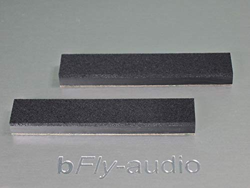 bFly-audio NL Set (2 Stück) Absorber/Dämpfer für Netzleisten (80 mm x 15 mm)