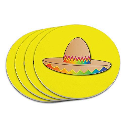 en Cinco De Mayo Mexiko Untersetzer Set (Cinco De Mayo Getränke)