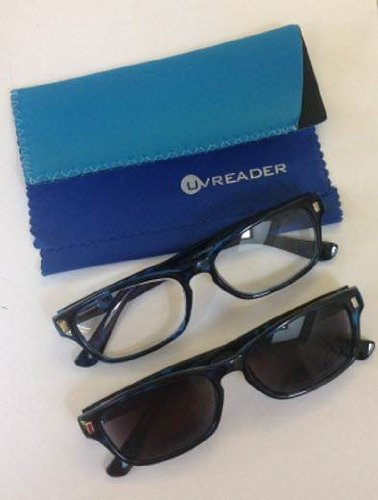 unisex-blue-black-mottled-clear-and-sun-readers-dual-pack-power-300-by-uvspecs